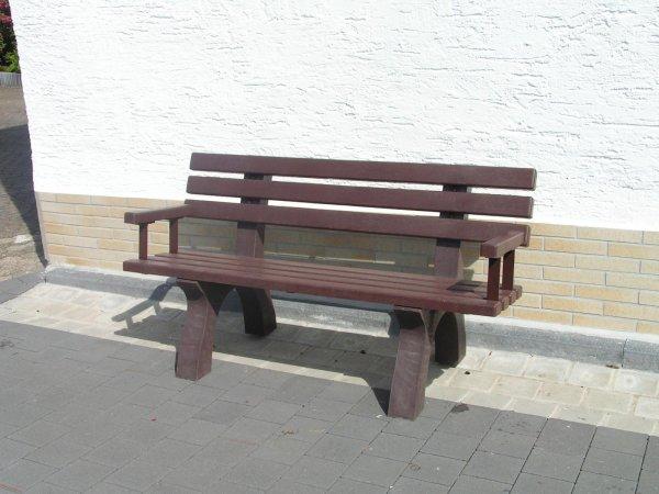 Kunststoff-Armlehne für Bank Trafalger Square