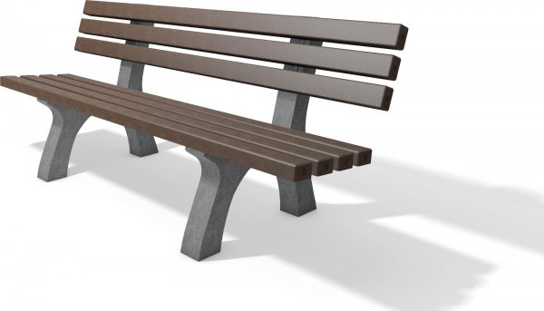 Kunststoff Bänke und Tische / Parkbank / Gartenbank ...