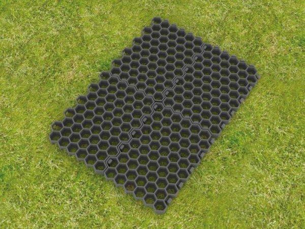 Kunststoff-Paddockplatte