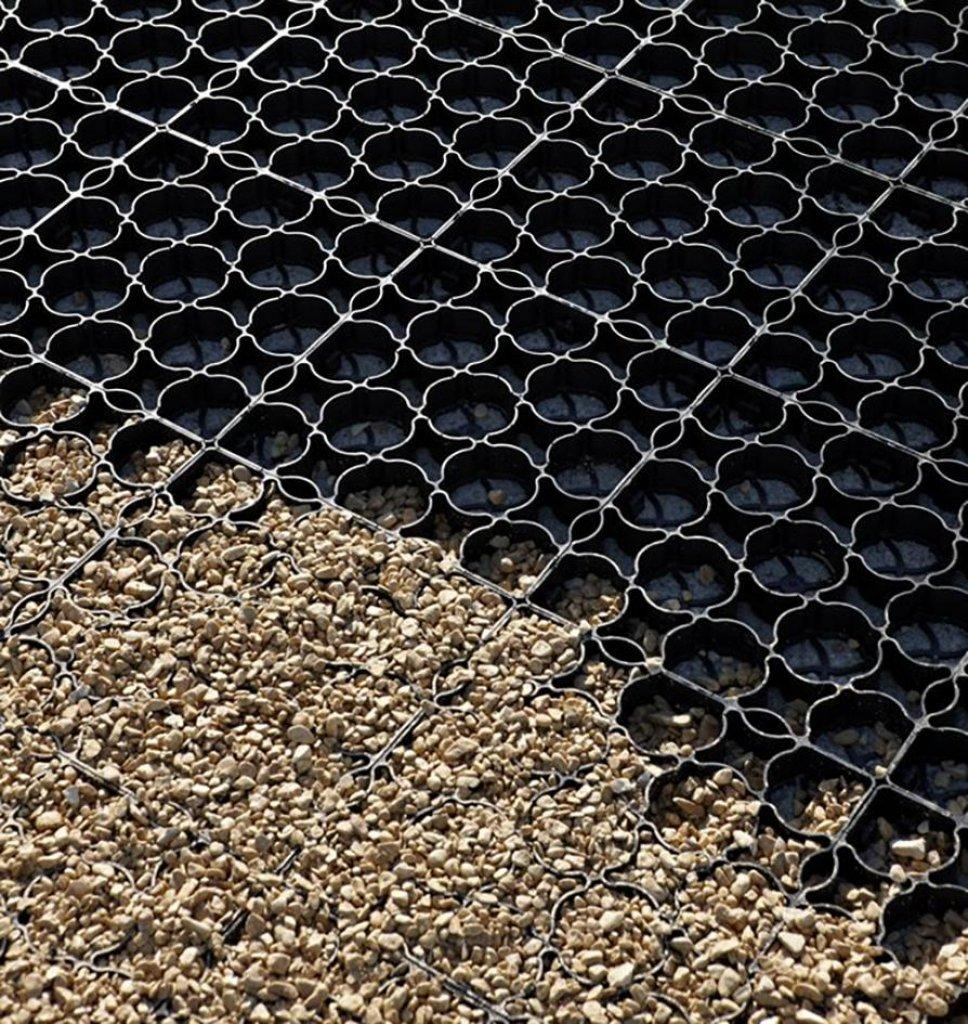 Bevorzugt Rasengitter - Hanpave aus Recyclingkunststoff ist ein NT07