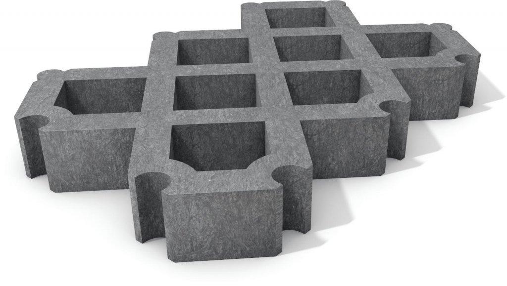 rasengitterstein der rasengitterstein aus unserem recycling kunststoff. Black Bedroom Furniture Sets. Home Design Ideas
