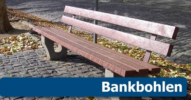 Recycling Kunststoff Bankbohlen