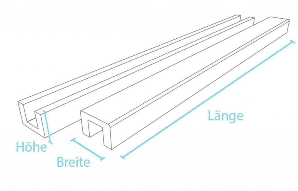 U-Profil - Konstruktionsmaterial für Einfassungen mit System ...