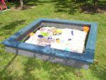 Recycling-Kunststoff Sandkasten